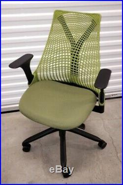 Herman Miller Sayl Office Task Chair Green Ergonomic aeron USA EX+++