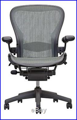 Herman Miller Size B Aeron Chair + Lumbar