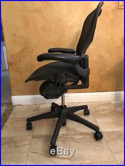 Herman Miller Size B Aeron Chairs