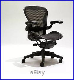 Herman Miller Size B Aeron Chairs Highly Adjustable W / Lumbar Support