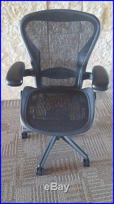 Herman Miller Size'B' Aeron Chairs / Lumbar Support Excellent Condition