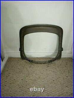 Herman Miller Titanium Silver Aeron Size B SEAT FRAME, NO CRACKS