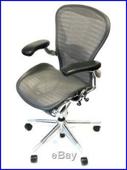 Herman Miller Toxido Mesh Fully-Adjustable Size B Posturefit Aeron