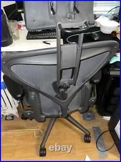 Herman miller aeron chair size b fully loaded posture fit SL with atlas headrest