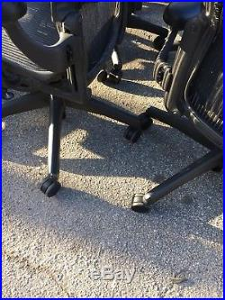 Lot of 20 Aeron Herman Miller Office Desk Chairs