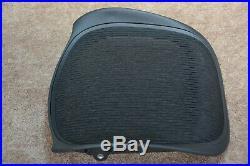 NEW OEM Herman Miller Aeron Seat Pan Replacement Size C Large Black 3D01 Part