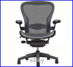 NIB Herman Miller Aeron Ergonomic Computer Home Office Desk Chair Medium Size B