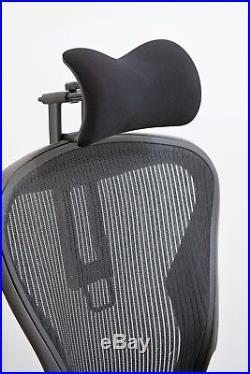 New Atlas Headrest. Ergonomically Optimized for Herman Miller Aeron Chair