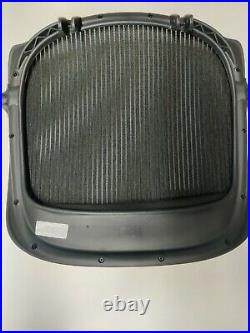 New GENUINE OEM Herman Miller Aeron Seat Pan Size C large 3 dots Black 3D01