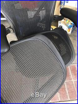 New Herman Miller Aeron Chair Seat Pan Size C Graphite Gray NOT BLACK