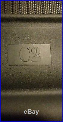 New Herman Miller Aeron Part Black Size C Seat Pan Frame and Mesh