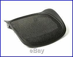New Herman Miller Classic Aeron Seat Pan Replacement Size B Black 3D01 OEM