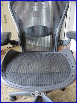 New (O) Herman Miller Aeron Mesh Office Desk Chair Medium Sz B Fully Adj Lumbar