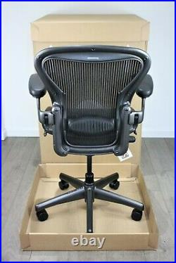 Next Day UK Delivery Herman Miller Aeron Chair Size A Lumbar Support