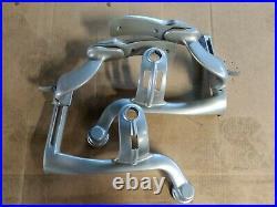 OEM Herman miller Aeron chair Arm Yoke left and right silver-Genuine Aeron Parts