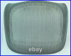 OEM NEW Replacement Seat for Aeron Classic Size C Graphite Lead Color Mesh 3D02