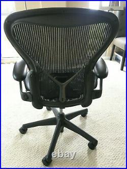 Original Herman Miller Aeron Chair (black & size C)