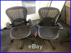 Over 100 Herman Miller Aeron Chairs
