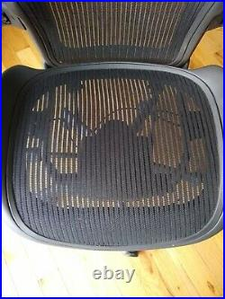 (Philly/NJ)Herman Miller Aeron Office Chairs (B/C) Black Excellent Condition