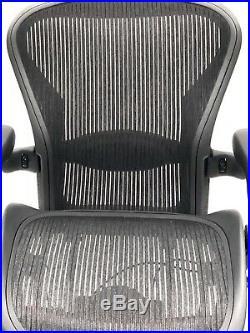 RENEWED- Herman Miller Fully-Loaded Size B Lumbar Support Aeron Chair