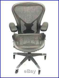 Renewed Herman Miller Fully-Loaded Size B PostureFit Aeron Chair