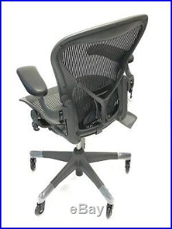 Renewed Herman Miller Fully-Loaded Size C (LARGE) PostureFit Aeron Chair