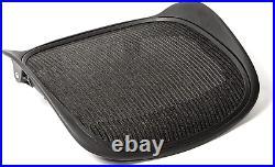 Replacement Seat for Herman Miller Classic Aeron Size B Medium Black Mesh
