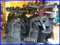 Set of 4 Herman Miller Mirra (Aeron) Chair Mid Century Office / Home Gray/Black