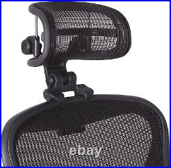 The Original Headrest for The Herman Miller Aeron Chair H3 Carbon Colors and