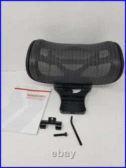 The Original Headrest for The Herman Miller Aeron Chair H3 Carbon Colors and M