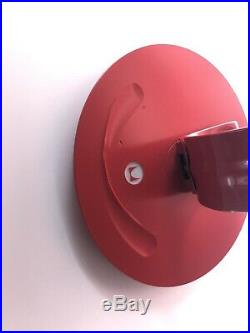 Yves Behar Herman Miller Leaf LED Desk Light Lamp Aeron Sayl EAMES Knoll DWR Red